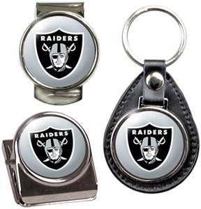 Oakland Raiders Keychain/Money Clip/Magnet Clip