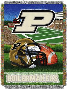 Northwest NCAA Purdue Univ HFA Tapestry Throws