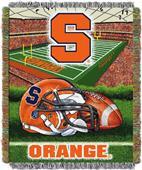 Northwest NCAA Syracuse Univ HFA Tapestry Throws