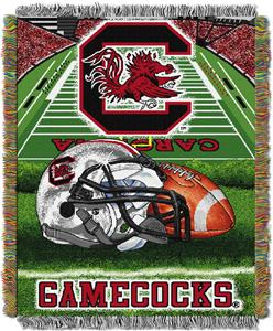 Northwest NCAA South Carolina HFA Tapestry Throws
