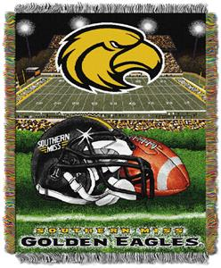 Northwest NCAA Southern Miss HFA Tapestry Throws
