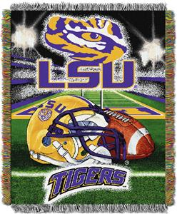 Northwest NCAA LSU Tigers HFA Tapestry Throws