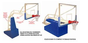 Jaypro Elite 5400 Portable Indoor Basketball Goal