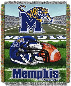 Northwest NCAA Memphis Tigers HFA Tapestry Throws