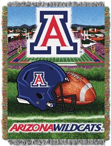 Northwest NCAA Arizona Wildcats HFA Tapestry Throw