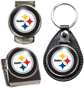 NFL Pittsburgh Steelers Keychain/Money Clip/Magnet