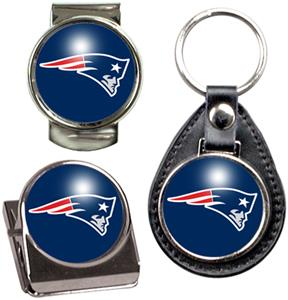 New England Patriots Keychain/Money Clip/Magnet