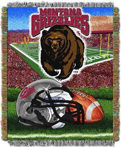 Northwest NCAA Montana HFA Tapestry Throws