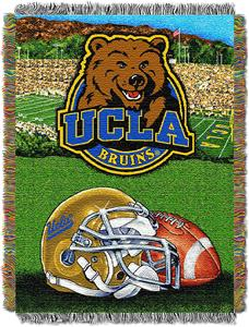 Northwest NCAA UCLA Bruins HFA Tapestry Throws