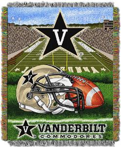 Northwest NCAA Vanderbilt HFA Tapestry Throws