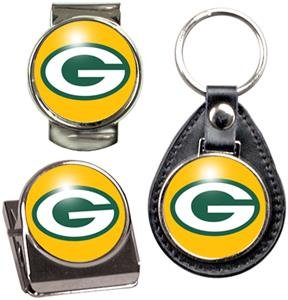 NFL Green Bay Packers Keychain/Money Clip/Magnet