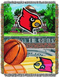 Northwest NCAA Louisville HFA Tapestry Throws