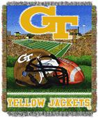 Northwest NCAA Georgia Tech HFA Tapestry Throws