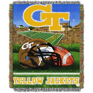 Northwest NCAA Georgia Tech HFA Tapestry Throws