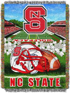 Northwest NCAA N Carolina State HFA Tapestry Throw