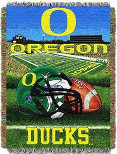 Northwest NCAA Oregon Ducks HFA Tapestry Throws