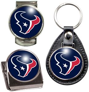 NFL Houston Texans Keychain/Money Clip/Magnet Clip