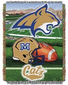 Northwest NCAA Montana State HFA Tapestry Throws