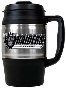 NFL Oakland Raiders 34oz Thermal Travel Mug