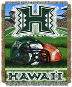 Northwest NCAA Hawaii Warriors HFA Tapestry Throws