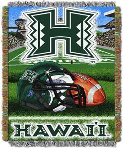 Northwest NCAA Hawaii Warriors HFA Tapestry Throws
