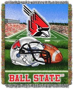 Northwest NCAA Ball State HFA Tapestry Throws