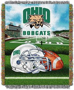 Northwest NCAA Ohio Bobcats HFA Tapestry Throws