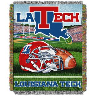 Northwest NCAA Louisiana Tech HFA Tapestry Throws
