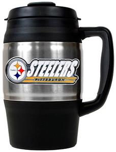 NFL Pittsburgh Steelers 34oz Thermal Travel Mug