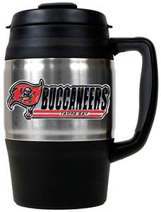 NFL Tampa Bay Buccaneers 34oz Thermal Travel Mug