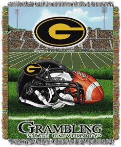 Northwest NCAA Grambling State HFA Tapestry Throws