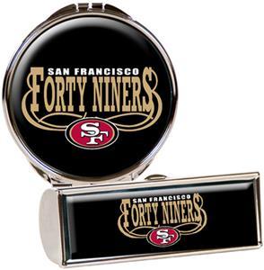 San Francisco 49ers Lipstick Case/Compact Mirror