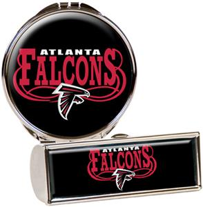 NFL Atlanta Falcons Lipstick Case/Compact Mirror