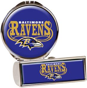 NFL Baltimore Ravens Lipstick Case/Compact Mirror