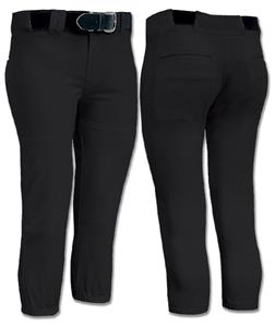 Low Rise Women/Girls Performance Softball Pants