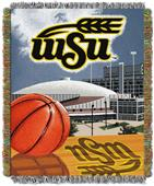 Northwest NCAA WSU Shockers HFA Tapestry Throws