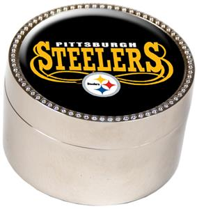 NFL Pittsburgh Steelers Metal Trinket Box