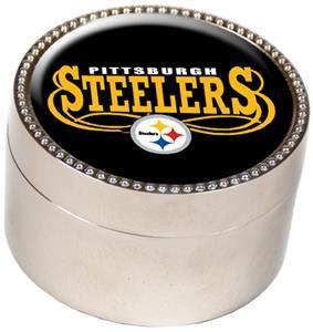 NFL Pittsburgh Steelers Metal Trinket Box