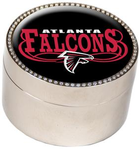 NFL Atlanta Falcons Metal Trinket Box