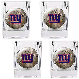 NFL New York Giants Open Field Square Shot Glasses