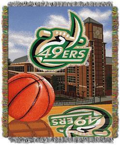 Northwest NCAA UNC Charlotte HFA Tapestry Throws