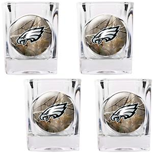 NFL Philadelphia Eagles Open Field 4pc Shot Glass
