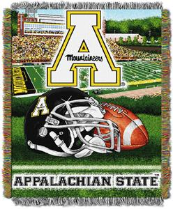 Northwest NCAA ASU Mountaineers HFA Tapestry Throw