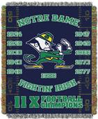 Northwest NCAA Notre Dame Champs Throws