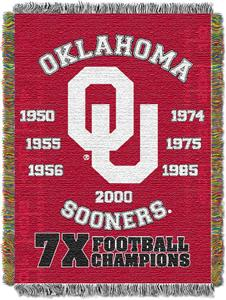 Northwest NCAA Oklahoma Sooners Champs Throws