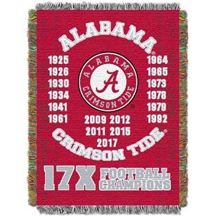 Northwest NCAA Alabama Crimson Tide Champs Throws