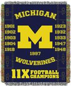 Northwest NCAA Michigan Wolverines Champs Throws