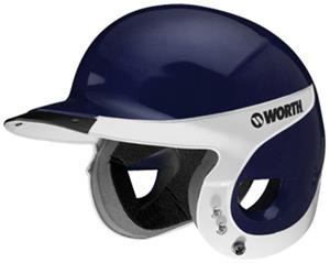 Worth WLBHA Away Liberty Batter's Helmets-NOCSAE