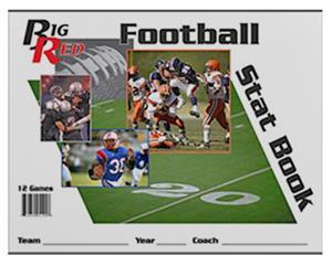 Blazer Athletic Football Stat Book