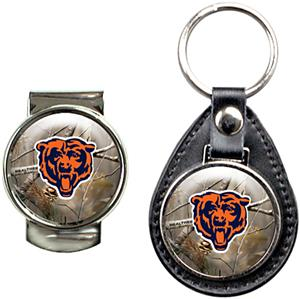 NFL Chicago Bears Open Field Keychain/Money Clip